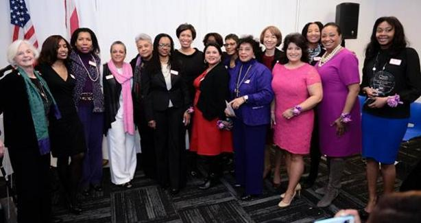 photograph of the winners of the Washington Women of Excellence Award