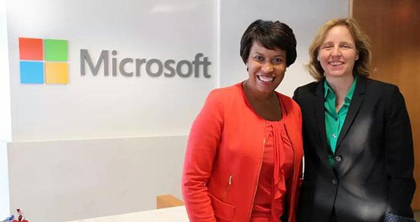 Mayor Bowser and Technology Officer Megan Smith
