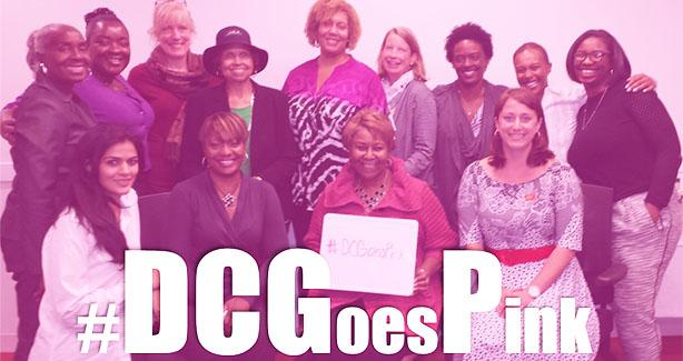 DC Goes Pink