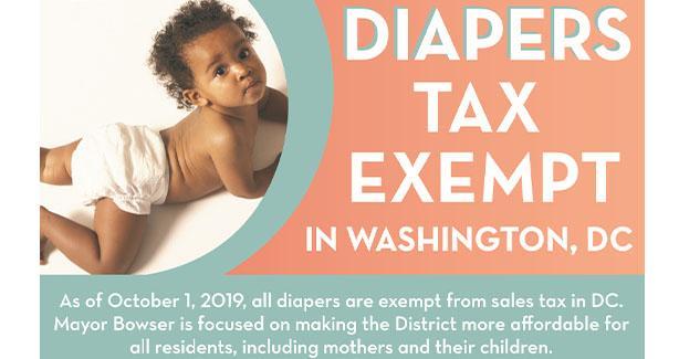Diaper Tax Exempt