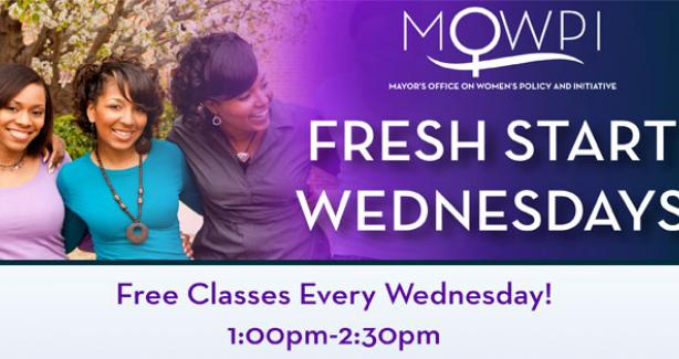 Fresh Start Wednesday's