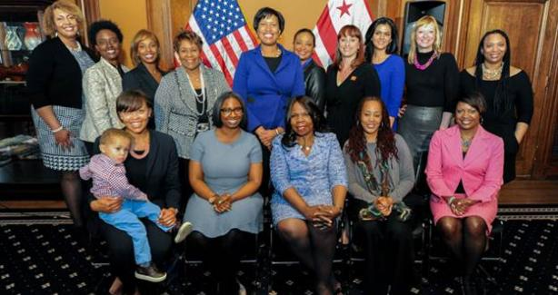 photograph of the 2015 DC Commission for Women