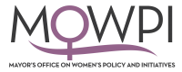 Mayor's Office on Women's Policy and Initiatives logo